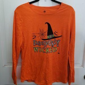 Halloween long sleeve tshirt